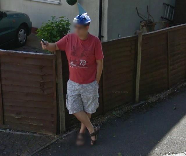 Google Streetview Troll