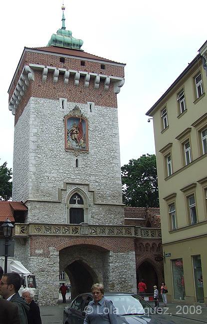 Puerta Florianska. � Lola V�zquez, 2008