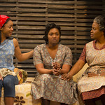 Keona Welch ('Beneatha Younger'), Ashley Everage ('Ruth Younger'), and Kimberly Scott ('Lena Younger') in the Huntington Theatre Company's production of Lorraine Hansberry's A RAISIN IN THE SUN. Mar. 8 - Apr. 7, 2013 at Avenue of the Arts / BU Theatre. huntingtontheatre.org. Photo: T. Charles Erickson