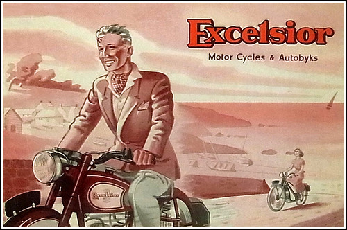 1950 Excelsior by bullittmcqueen