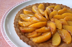 peach(0.0), plant(0.0), produce(0.0), dessert(0.0), apple pie(0.0), pie(1.0), baked goods(1.0), tart(1.0), fruit(1.0), food(1.0), dish(1.0), tarte tatin(1.0),