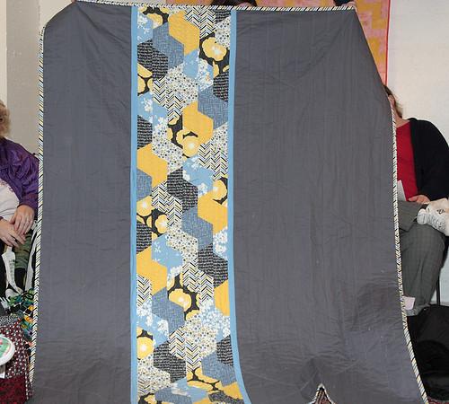 Vanessa's Madrona Road Challenge quilt