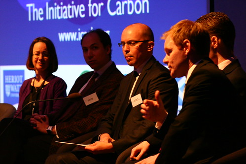 Panel discussion at Carbon Accounting 2013.