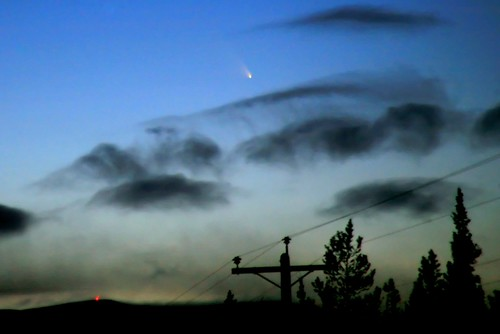 Comet Panstarrs in the Yukon Sky, March 15 by David Cartier