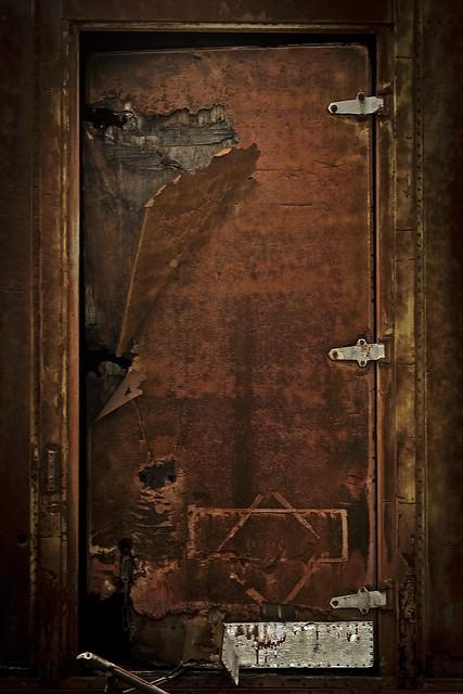 Old Metal Door : Old metal door flickr photo sharing