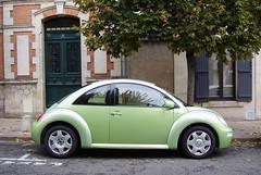 Volkswagen New Beetle verte