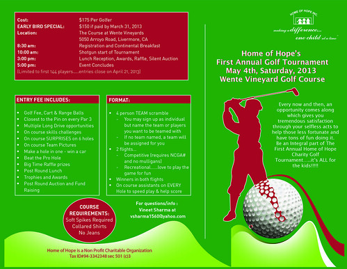 Home of Hope Golf Tournament by bandarji