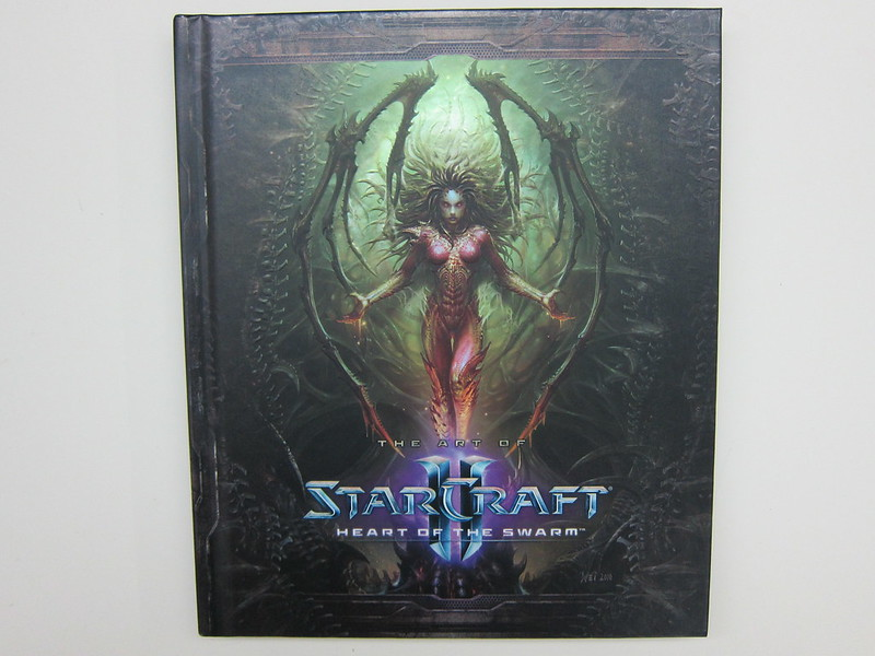 Heart Of The Swarm Art Book