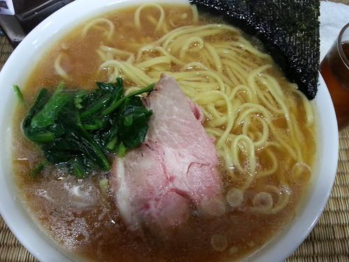 ra130319東京いまむら 豚骨ラーメン 大盛