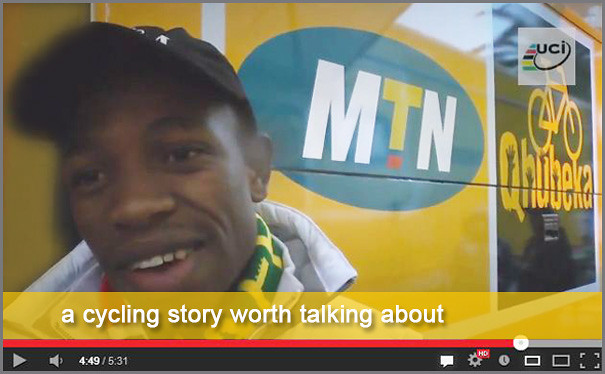 a cycling story worth reading about - team MTN