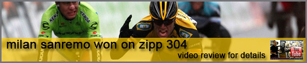 Video review of the wheelset that won Milan Sanremo - Zipp 304