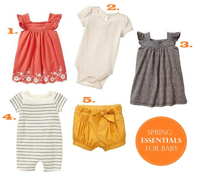 Spring Essentials for Baby