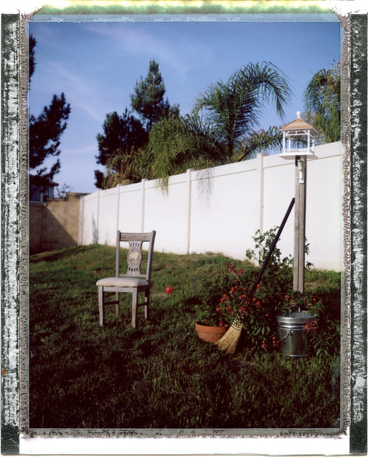 Still Life with Chair, Broom and Feeder