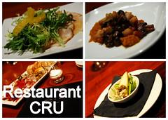 restaurant CRU