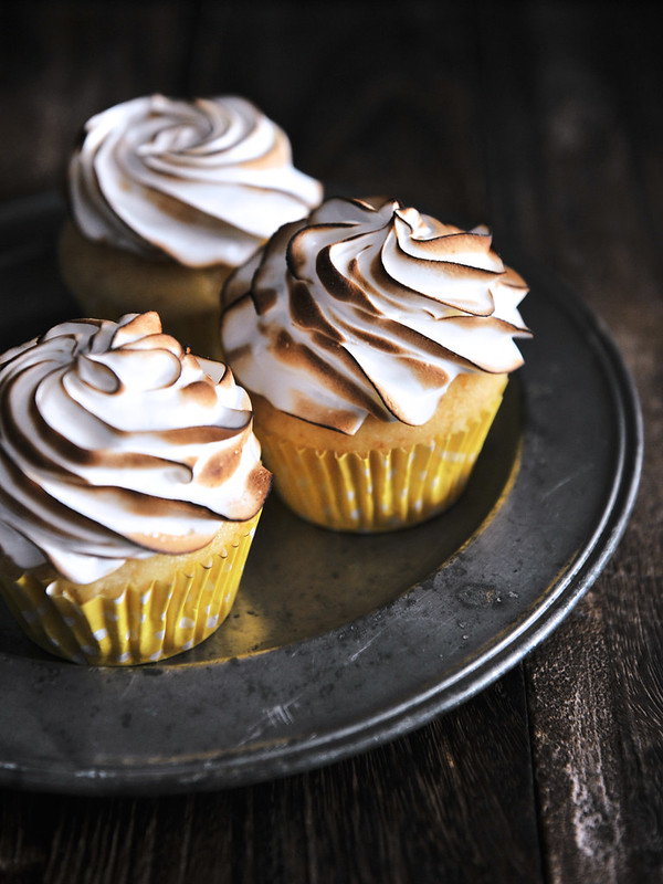 Lemon Meringue Cupcakes - Life is Great