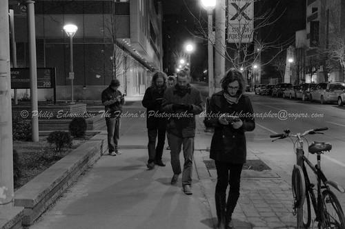 Walking Down Bay Street