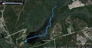 GPS Track Goodale Geocaching