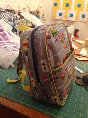 Done backpack!