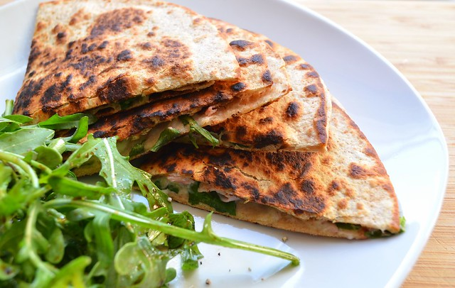Fig Havarti Ham Quesadilla
