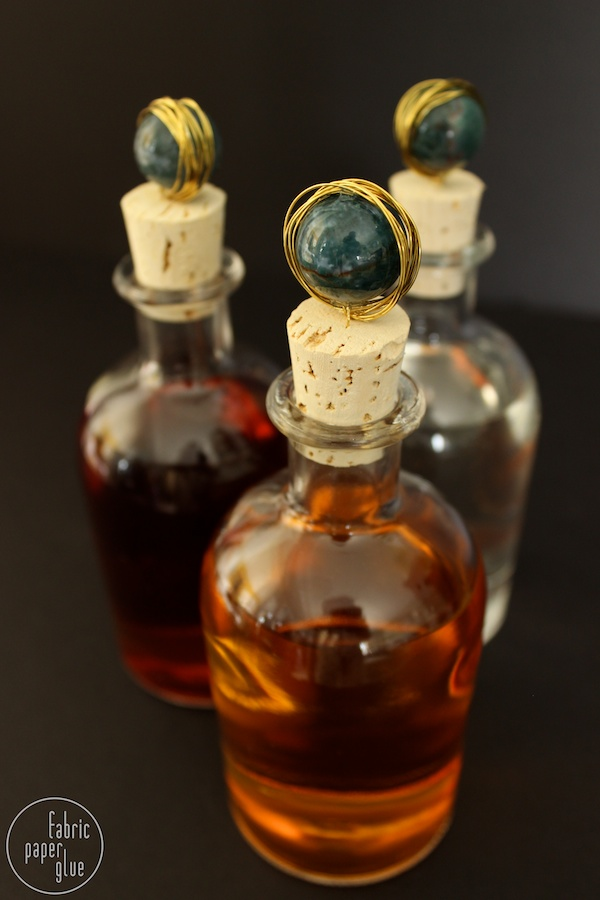 Marble-Topped Spirit Bottles 11