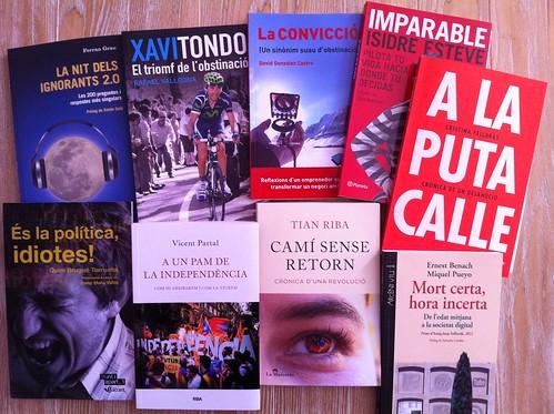 Llibres per Sant Jordi 2013