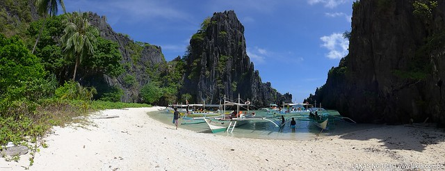 Hidden Beach at El Nido, Palawan, Philippines