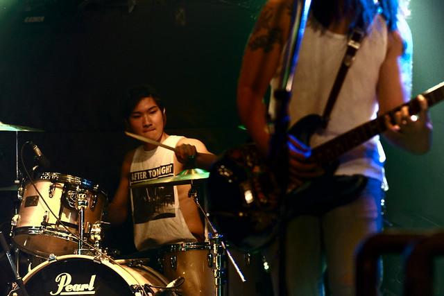 VAKKYA JENCO live at Outbreak, Tokyo, 08 Apr 2013. 099