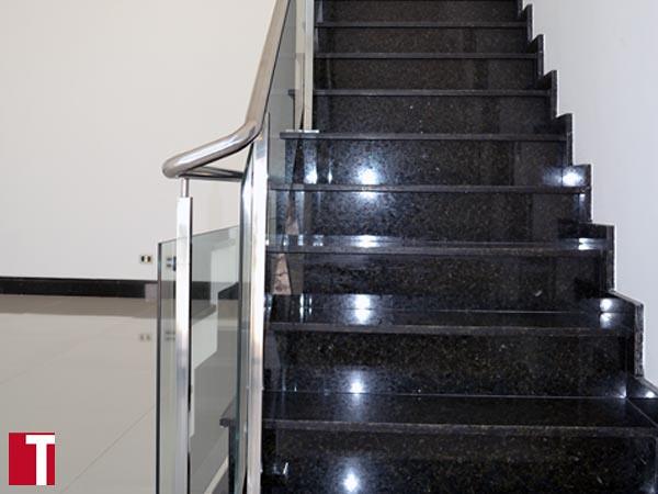 Escada em Granito Verde Ubatuba  Flickr  Photo Sharing! -> Pia De Banheiro Granito Verde Ubatuba