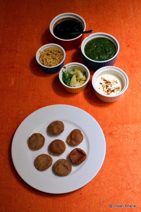 Vrat Ke Dahi Puri Navratri Recipes
