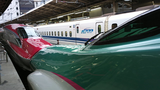 Shinkansen E6, E5 and N700 series