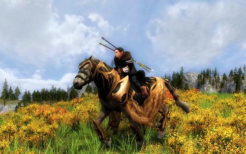 Riding on the Norcroft Plains