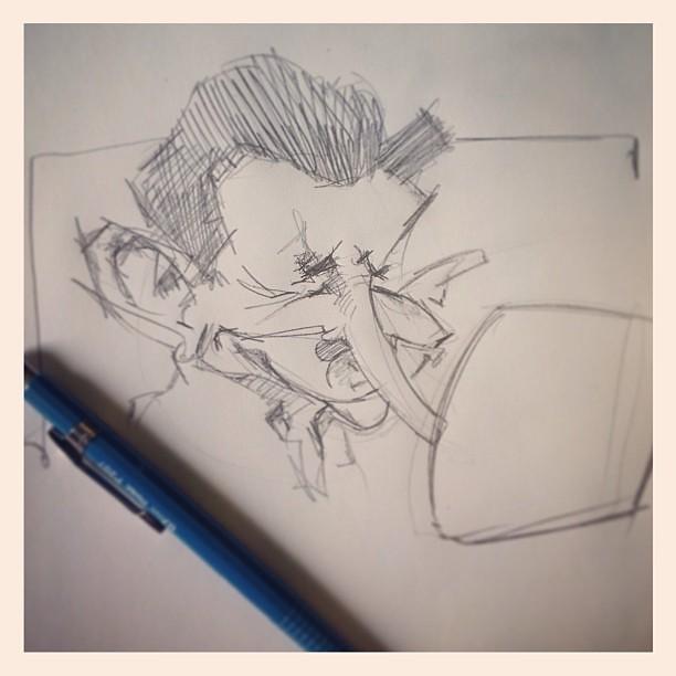 Rough sketch of lazkao txiki