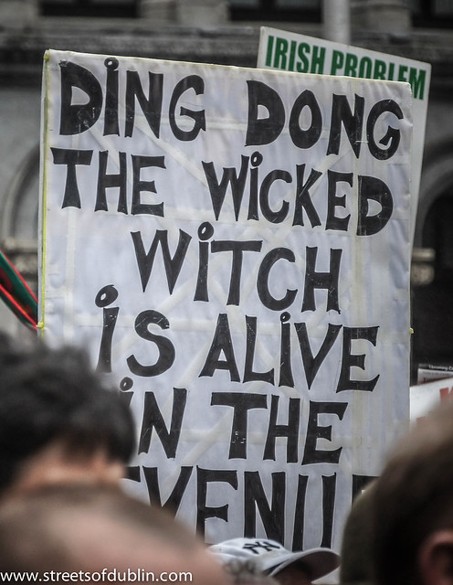 """Ding-Dong! The Witch Is Dead"" But According To Protesters ..."