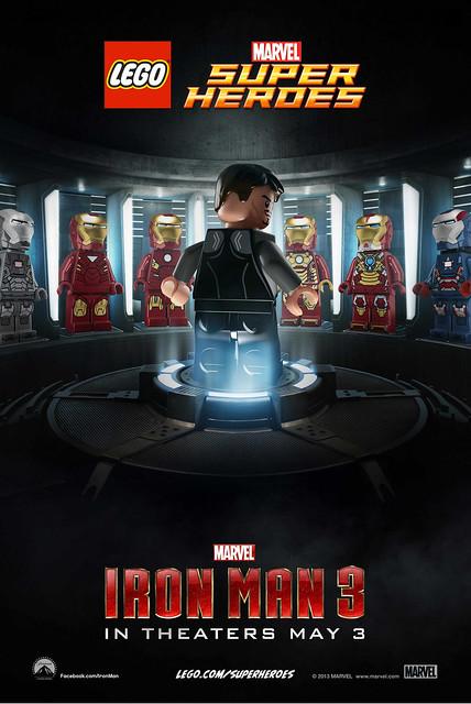 LEGO Iron Man 3 Poster 1