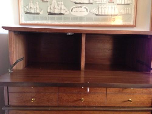 Mid-century dresser freshen-up