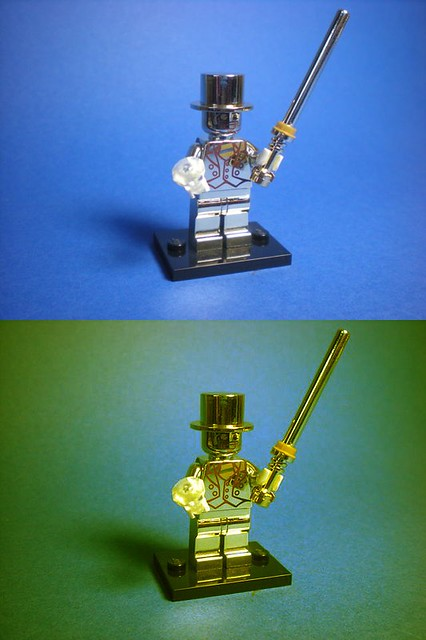 Mr. GOLD - LEGO 71001 - LEGO Collectable Minifigures Series 10
