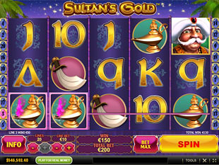Sultan's Gold Slot Machine