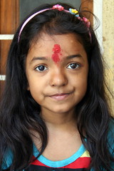 Portrait of Small Girls from Begampur-004