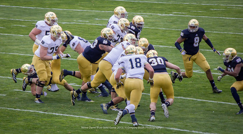Blue Gold Game 2013 - University of Notre Dame
