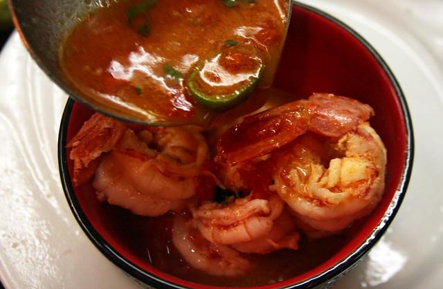 Sopa Thai de Langostinos 100