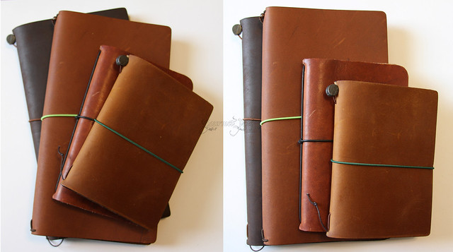 Midori Star Notebook with Midori & Pelle & Davis Leatherworks