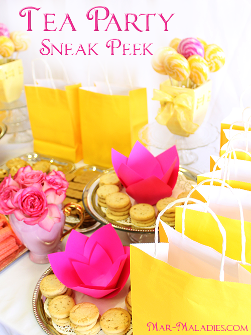 Tea Party Sneak Peek