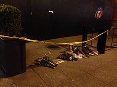 Memorial at bomb site 2