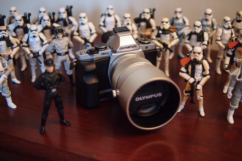 May the force camera be with you. XD|Olympus OM-D