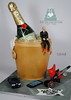 N1148 champagne bottle birthday cake toronto oakville