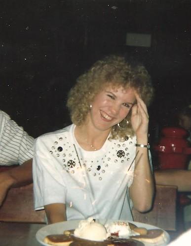 Late eighties big hair