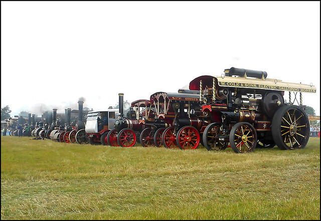 Steam Line-Up ..