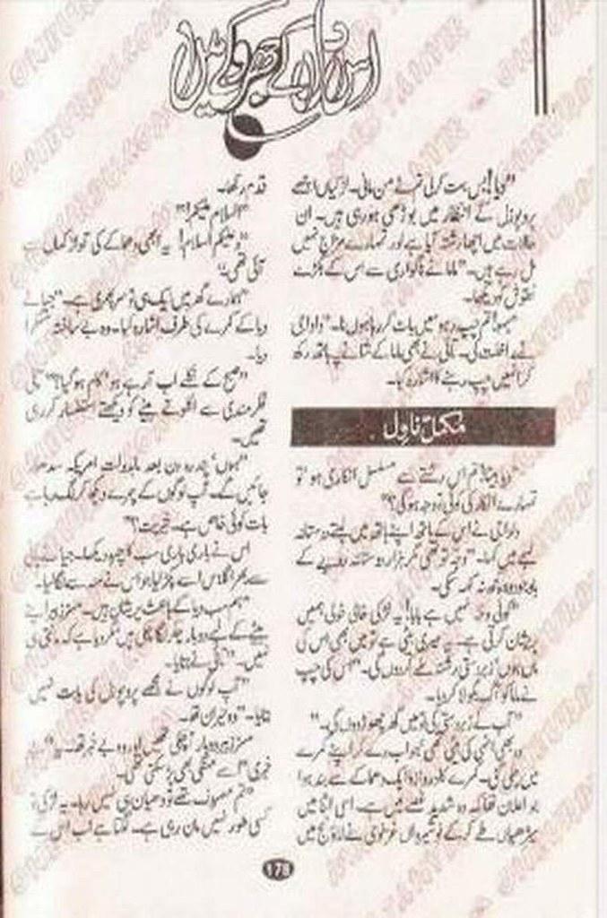 Is Dil k jharoke Me Complete Novel By Rehana Aftab