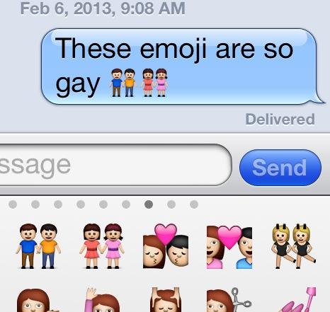gay emoji detail