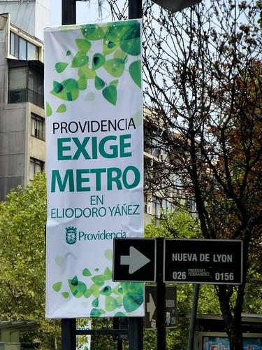 """""""Providencia exige Metro"""""""